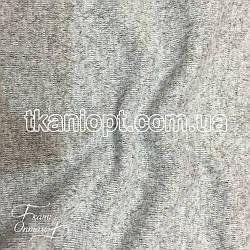 Ткань Трикотаж ангора тонкая (серый меланж)