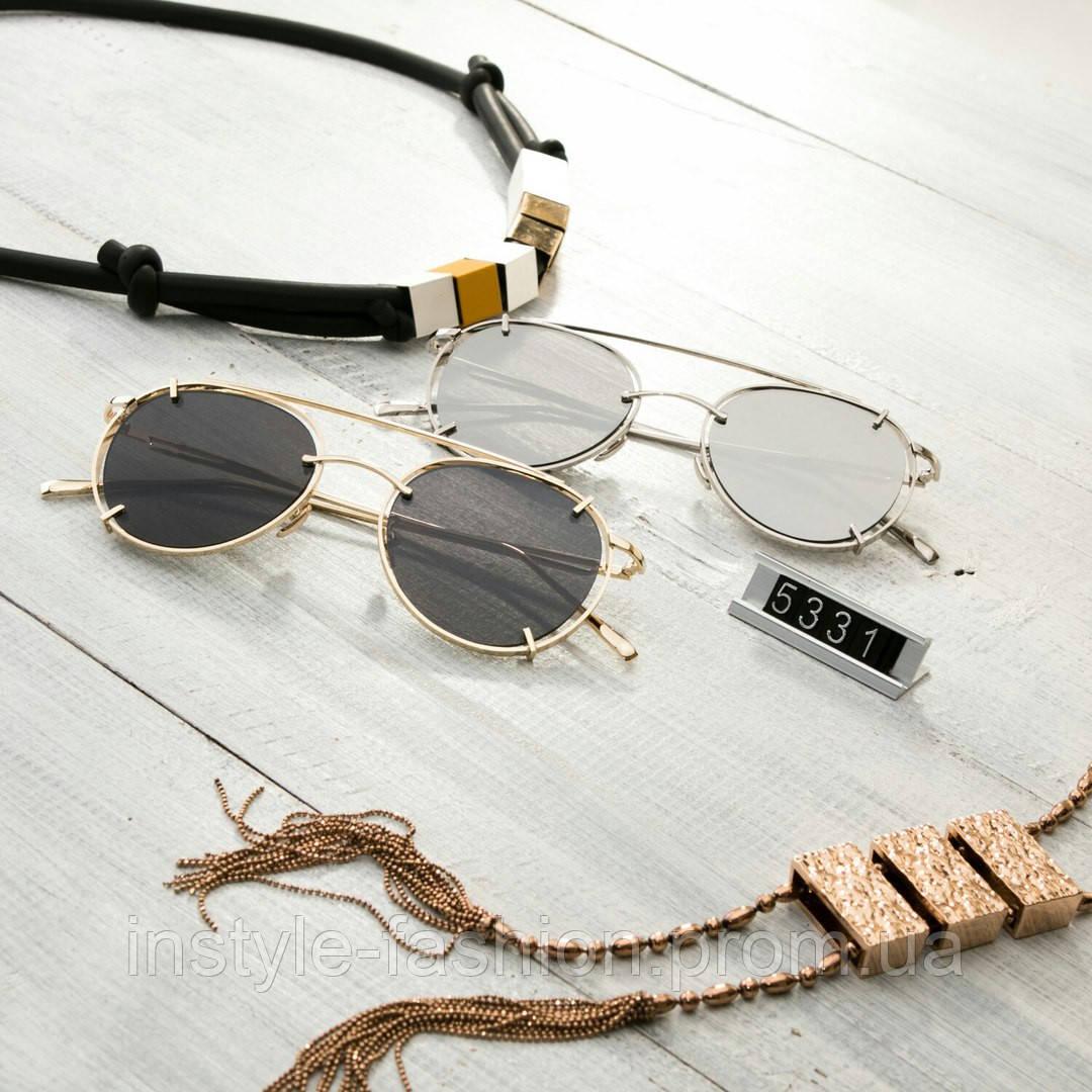 Женские брендовые очки копия Диор реплика капли