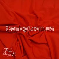 Ткань Трикотаж вискоза Турция  ( оранжевый неон )