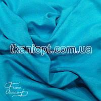 Ткань Трикотаж вискоза Турция ( бирюза )