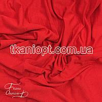 Ткань Трикотаж вискоза Турция (алый)