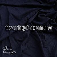 Ткань Трикотаж вискоза Турция (темно-синий)