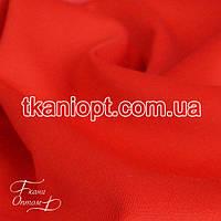 Ткань Трикотаж дайвинг  ( красный )