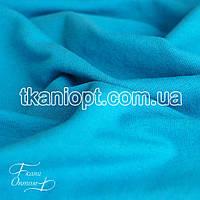 Ткань Трикотаж двунитка Турция (голубой)