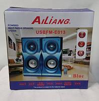 Стерео колонки компьютерные Ailiang USBFM-E013