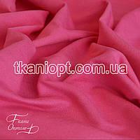 Ткань Трикотаж двунитка Турция (малиновый)