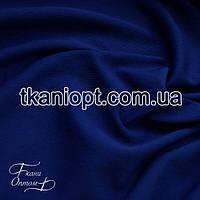 Ткань Трикотаж двунитка Турция (электро-синий)