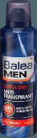 Дезодорант-антиперспирант аэрозольный Balea MEN Deo Spray Antitranspirant Еxtra dry, 200 ml
