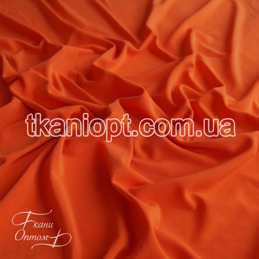 Трикотаж масло оранжевый сатин ткань купить в розницу в спб
