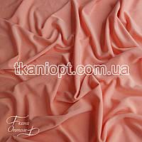 Ткань Трикотаж масло (персиковый)