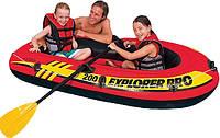 Детская надувная лодка Explorer 200 Pro Intex 58356, фото 1