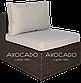 Комплект плетених меблів з ротангу  PULA III  BRAUN  240х240см, фото 3