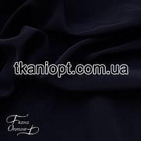 Ткань Тяжелый шелк  (темно-синий)