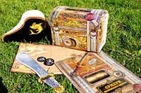 """Книга детская.""""Книжка-игрушка. Скриня справжнього пирата (укр)"""