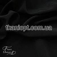 Ткань Тяжелый шелк  (черный)