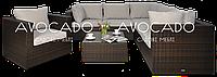 Комплект плетеной мебели из ротанга PULA III    кресло BRAUN  240х240см