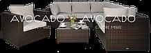 Комплект плетених меблів з ротангу PULA III крісло BRAUN 240х240см