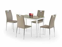 Стеклянный  обеденный стол Argus (Halmar)