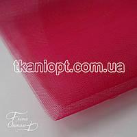 Ткань Фатин жесткий (темная малина)