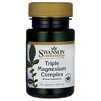 Магний для Похудения, 400 мг., 30 капсул