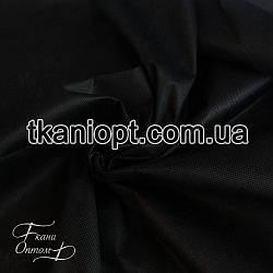 Ткань Флизелин клеевой (черный) 150 см