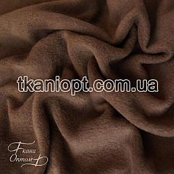 Ткань Флис коричневый (200 gsm)
