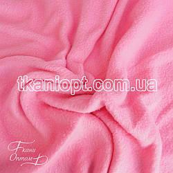 Ткань Флис розовый  (200 gsm)