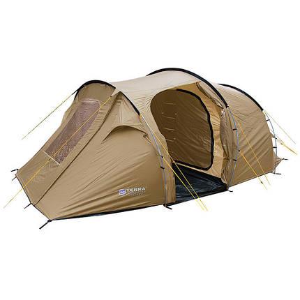Палатка Terra Incognita Family 5 песочный  2000000001159 + Бесплатная доставка по Украине, фото 2