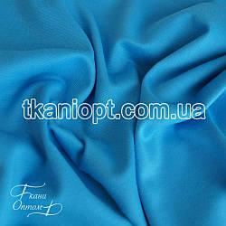 Ткань Французский трикотаж  (голубой)