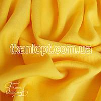 Ткань Французский трикотаж  (желтый)