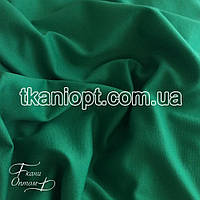 Ткань Французский трикотаж  (зеленый)