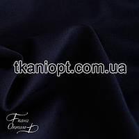 Ткань Французский трикотаж  (темно-синий)