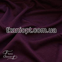 Ткань Французский трикотаж (марсала)