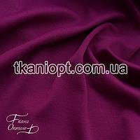 Ткань Французский трикотаж (фуксия)