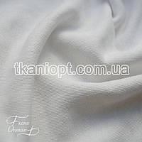 Ткань Футер трехнитка  ( белый )