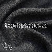 Ткань Футер трехнитка ( темно серый )