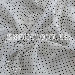 Ткань Шифон горох (2 мм)