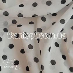 Ткань Шифон горох (7-8 мм)