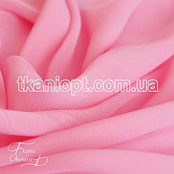 Ткань Шифон однотонный (розовый)