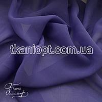 Ткань Шифон однотонный (лаванда)