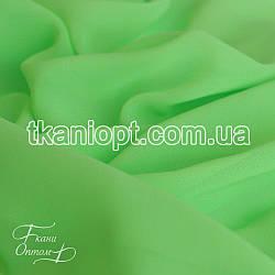 Ткань Шифон однотонный (фисташка)
