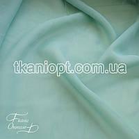 Ткань Шифон однотонный (шалфей)