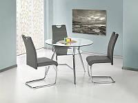 Стеклянный  обеденный стол BECKER (Halmar)