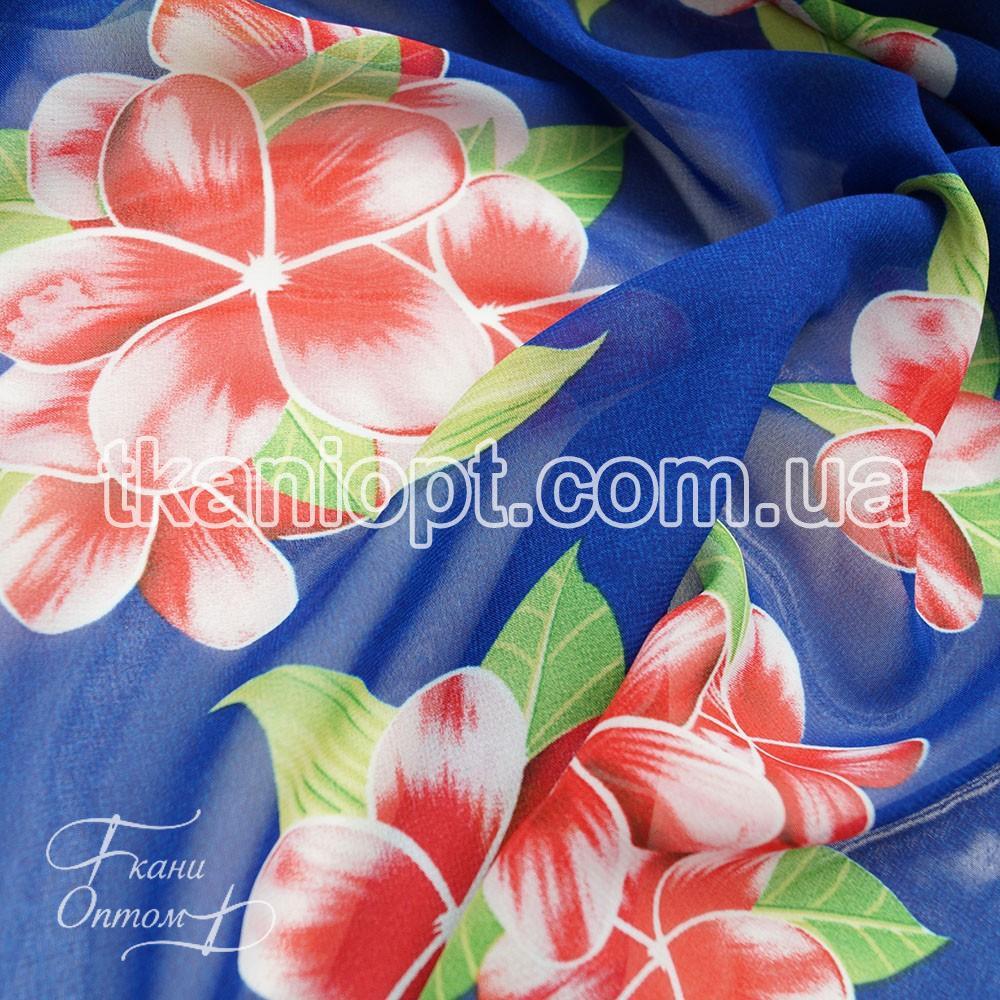 Ткань шифон с цветами купить французское кружево индонезия одежда интернет магазин в москве