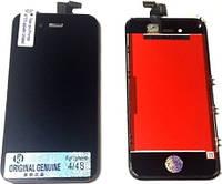 Модульная рамка экран дисплей сенсор тачскрин iPhone 4s черный