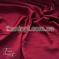 Ткань Шифон шелк (бордовый)