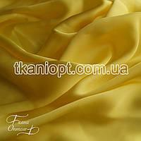 Ткань Шифон шелк (желтый)