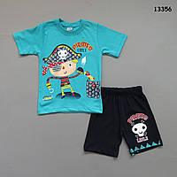 """Летний костюм """"Пират"""" для мальчика. 3-4;  5-6 лет"""