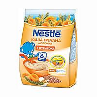 Молочная каша Nestle Гречневая с курагой с 6 месяцев 180 гр.