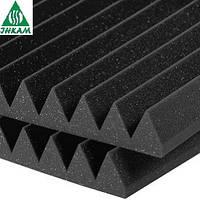 Черный поролон 1Д/50 волна 500*500мм акустический